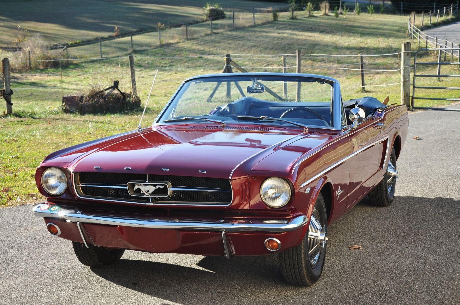 1964 Mustang Black