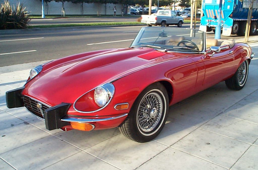 1974 Jaguar XKE V-12 SOLD