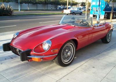 1974 Jaguar XKE V-12 SOLD