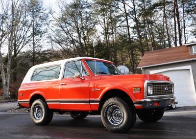 1972 Chevrolet K5 Blazer SOLD