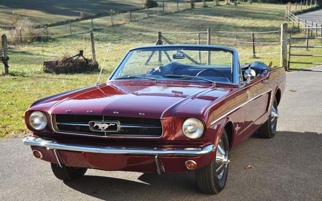 1964 1/2 Ford Mustang Convertible SOLD