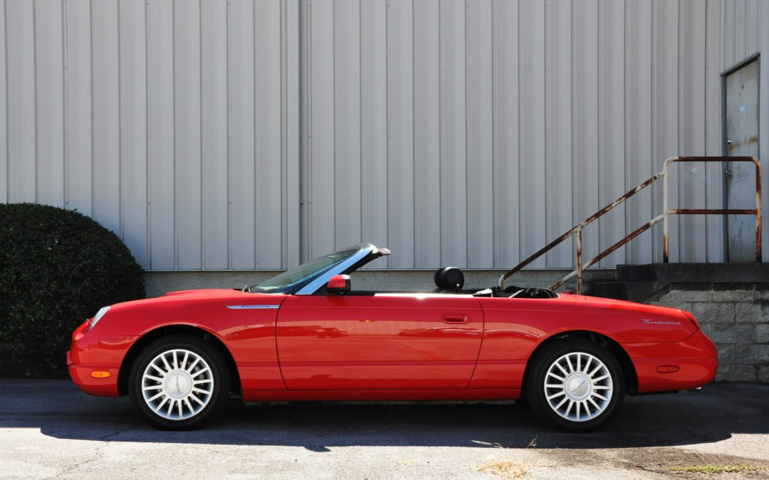 2005 Ford Thunderbird 50th Anniversary SOLD