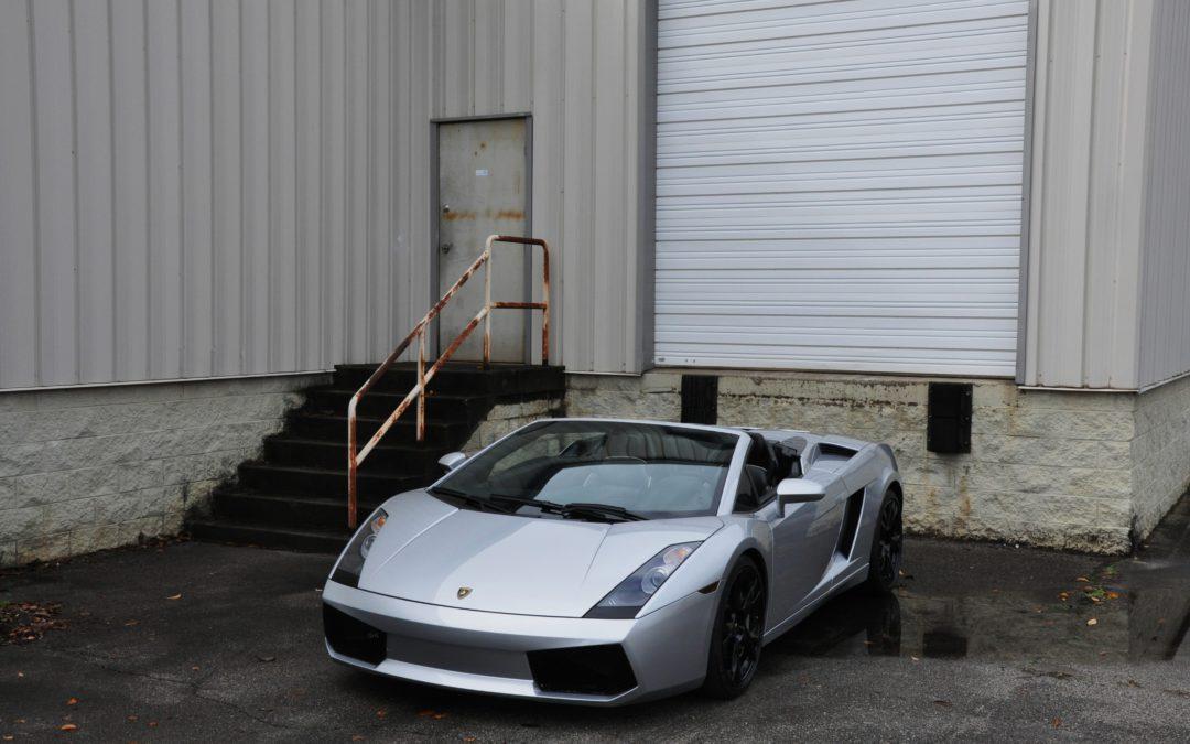 2008 Lamborghini Gallardo Spider Sold