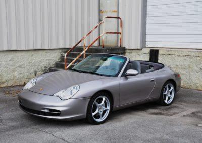 2003 Porsche 911 (996) C4 Cabriolet SOLD