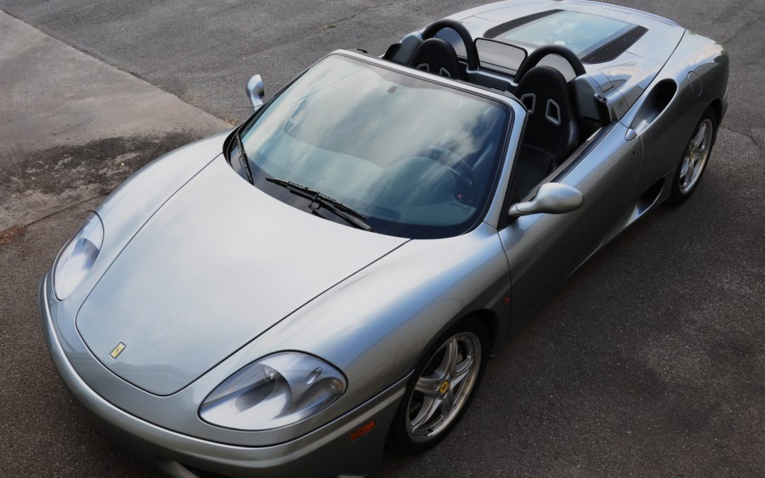 2002 Ferrari 360 Spider SOLD