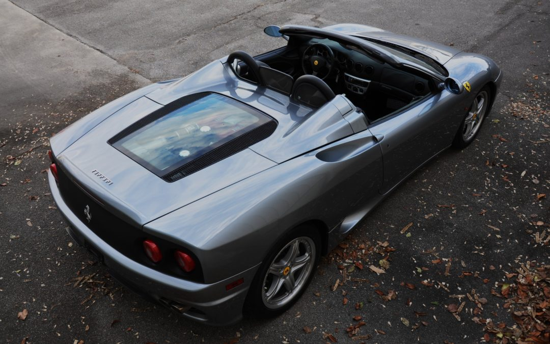 2004 Ferrari 360 Spider 6-speed SOLD