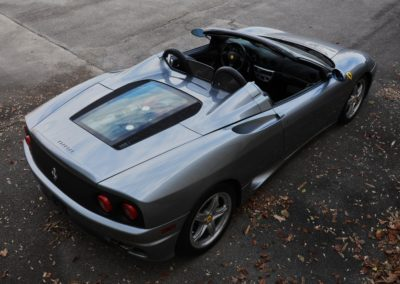2004 Ferrari 360 Spider 6-speed SOLD